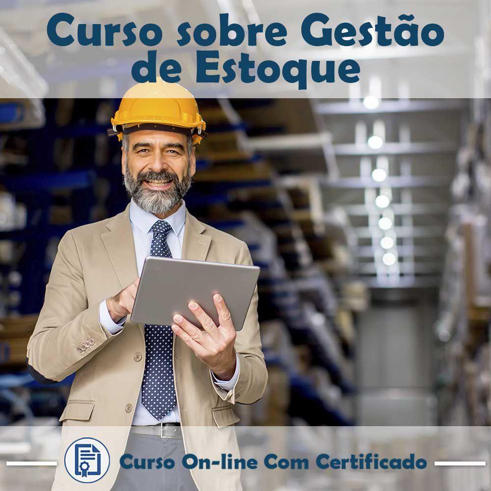 Curso online em videoaula sobre Gestão de Estoque com Certificado