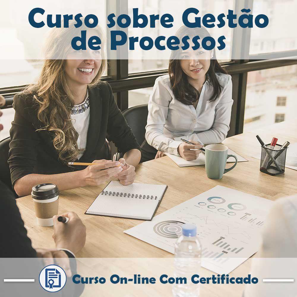 Curso online em videoaula sobre Gestão de Processos com Certificado