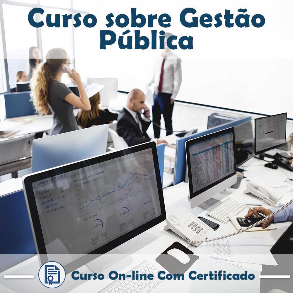 Curso online em videoaula sobre Gestão Pública com Certificado
