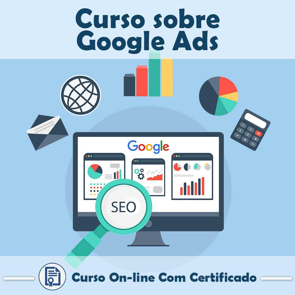 Curso online em videoaula sobre Google AdWords com Certificado