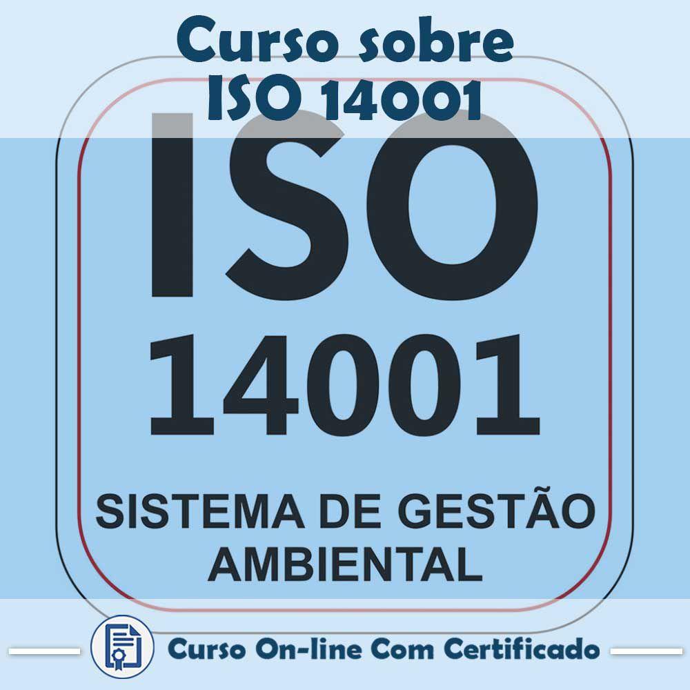Curso online em videoaula sobre ISO 14001 com Certificado