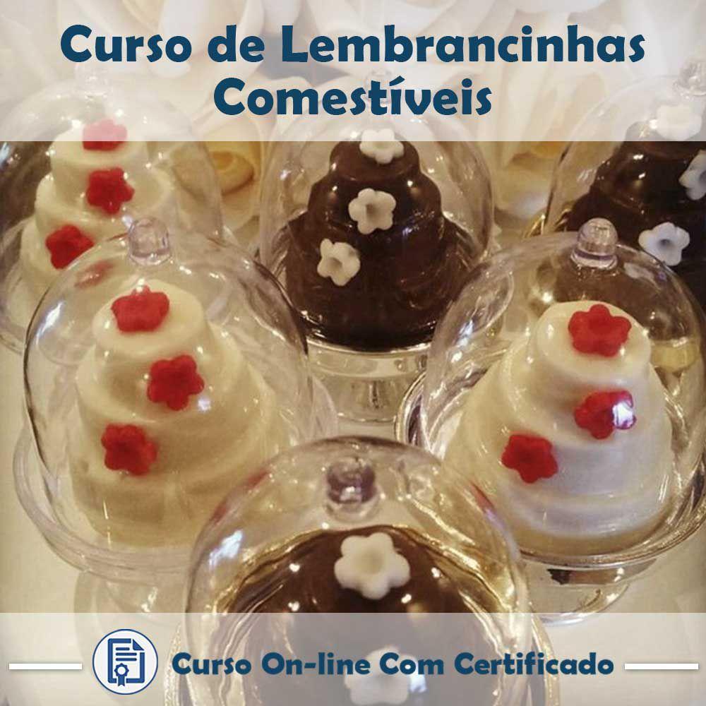 Curso online em videoaula sobre Lembrancinhas Comestíveis com Certificado  - Aprova Cursos
