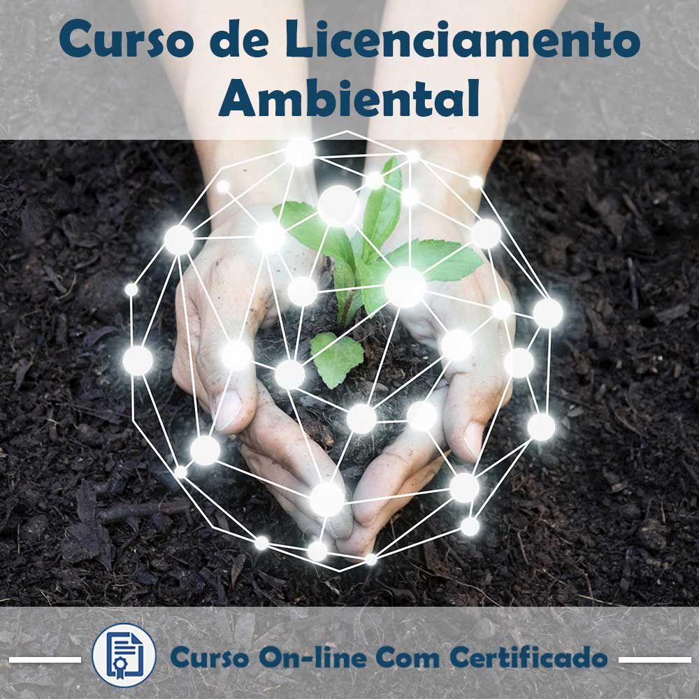 Curso online em videoaula sobre Licenciamento Ambiental com Certificado