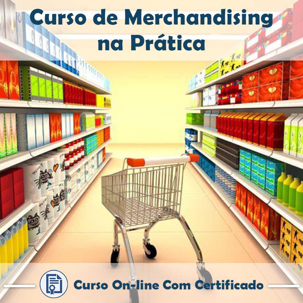 Curso online em videoaula sobre Merchandising na Prática com Certificado