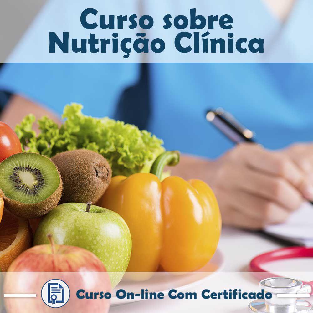 Curso online em videoaula sobre Nutrição Clínica com Certificado