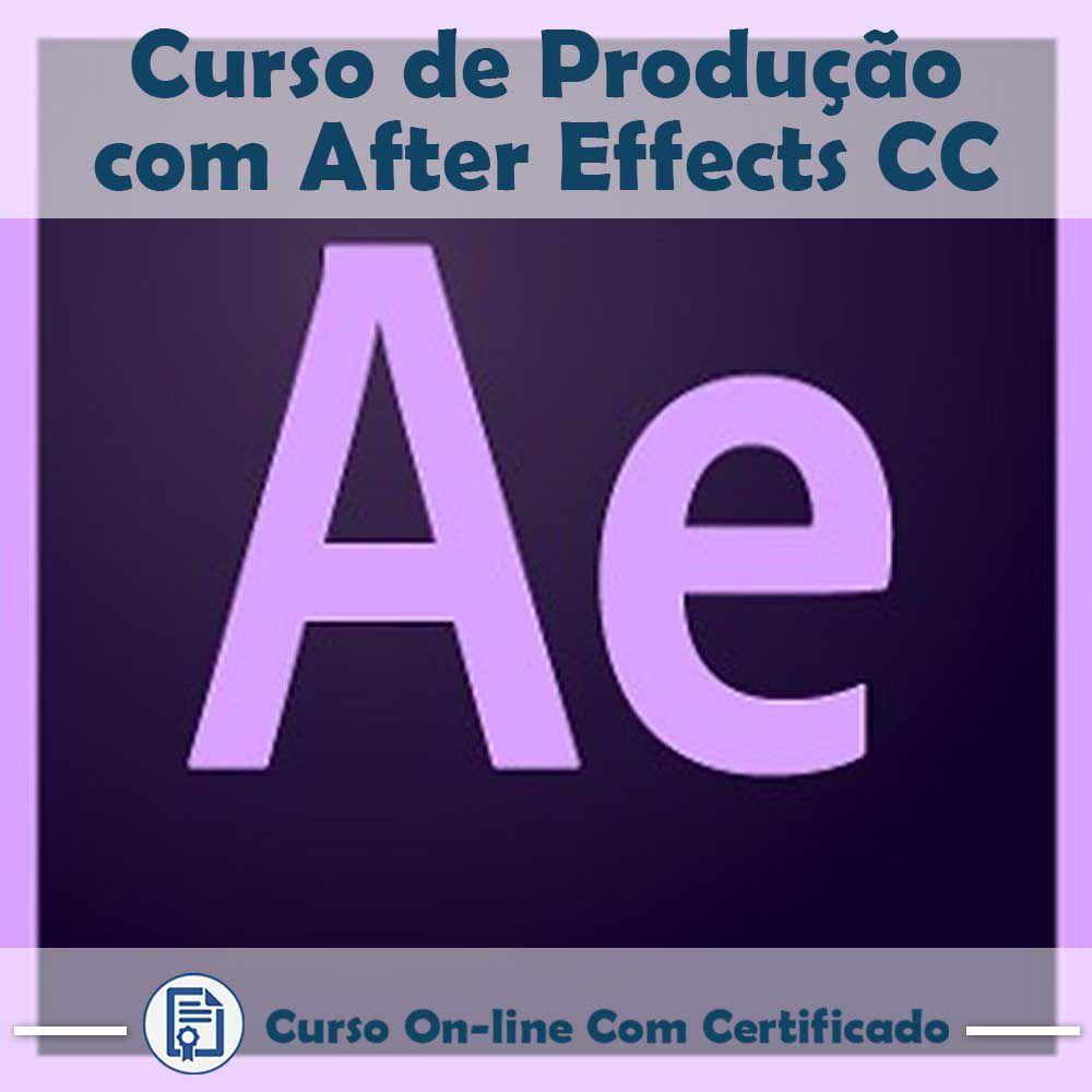 Curso online em videoaula sobre Produção com After Effects CC com Certificado
