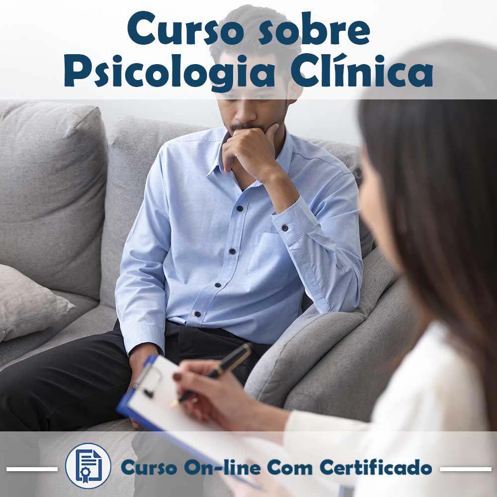 Curso online em videoaula sobre Psicologia Clínica na Prática com Certificado
