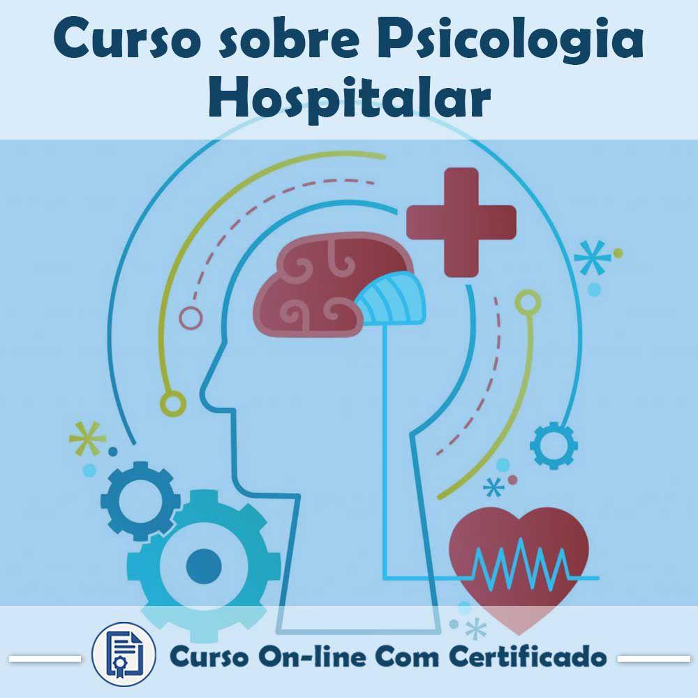 Curso online em videoaula sobre Psicologia Hospitalar com Certificado