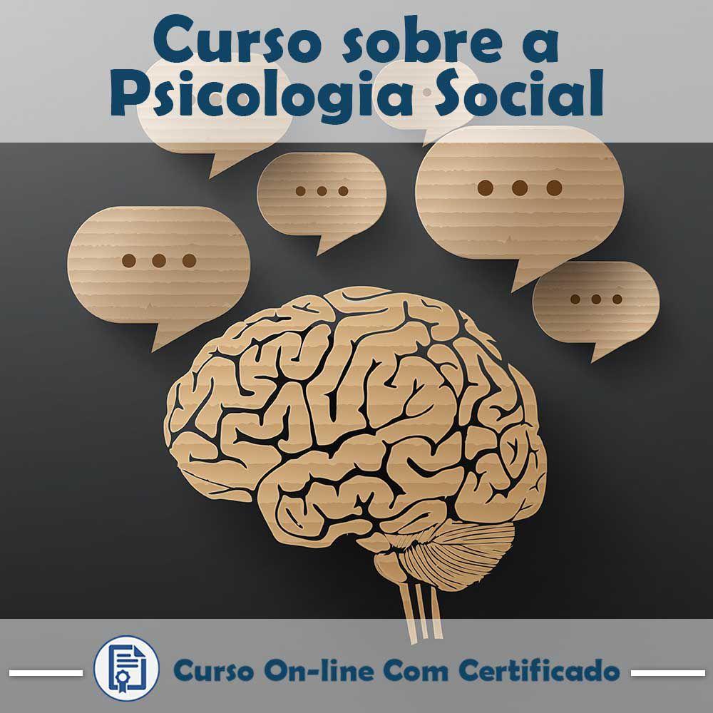 Curso online em videoaula sobre Psicologia Social com Certificado