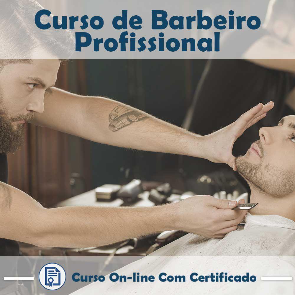 Curso online em videoaula torne-se um Barbeiro Profissional com Certificado  - Aprova Cursos