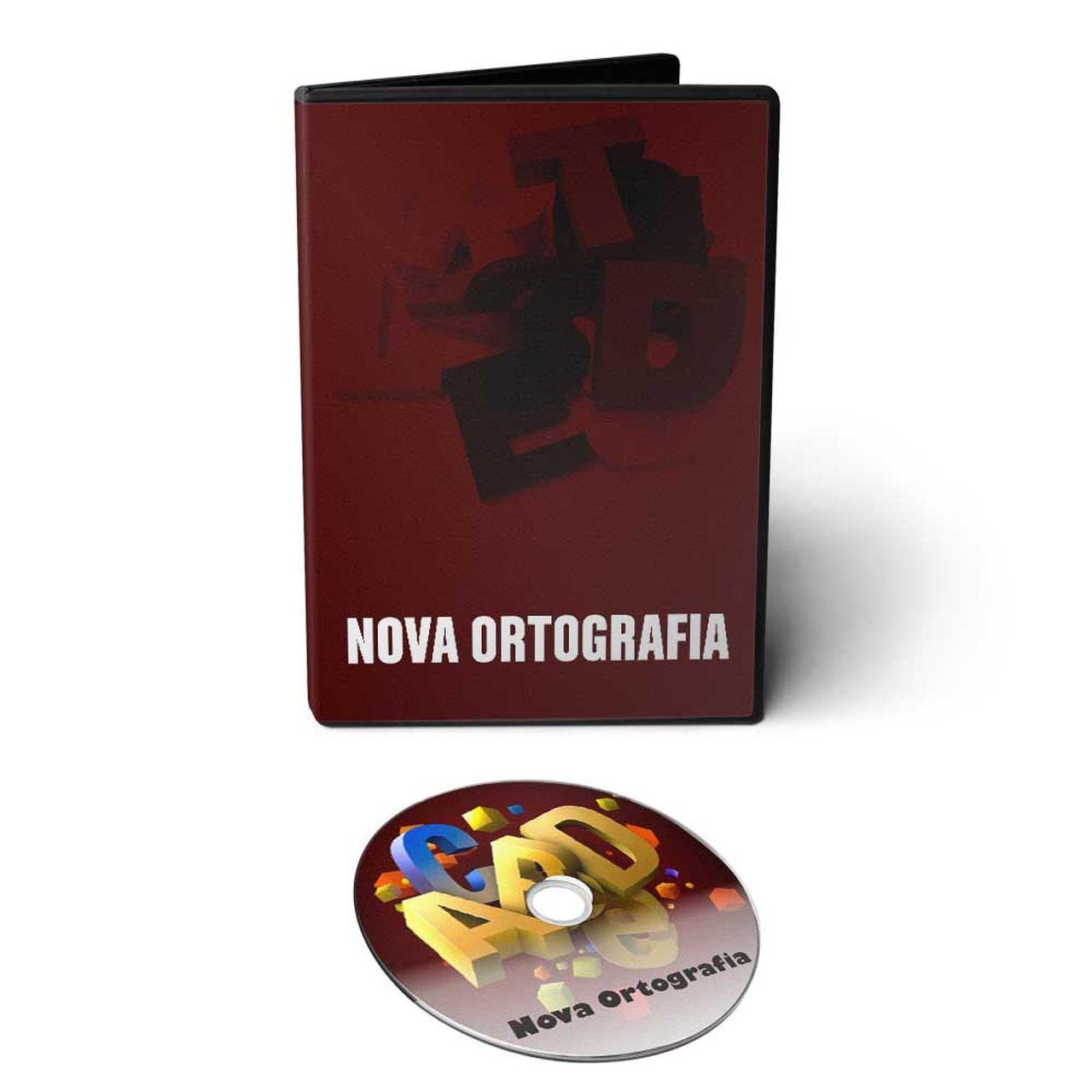 Curso sobre a Nova Ortografia da Língua Portuguesa em DVD Videoaula