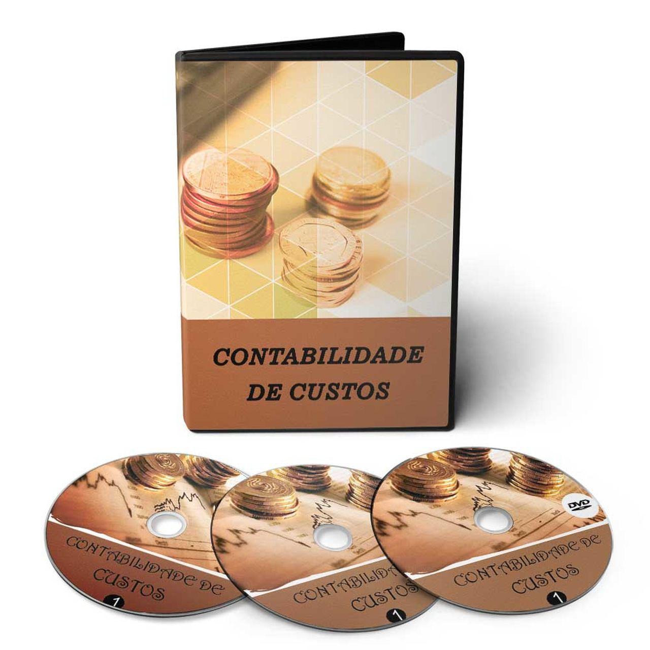 Curso sobre Análise de Custos em 02 DVDs Videoaula