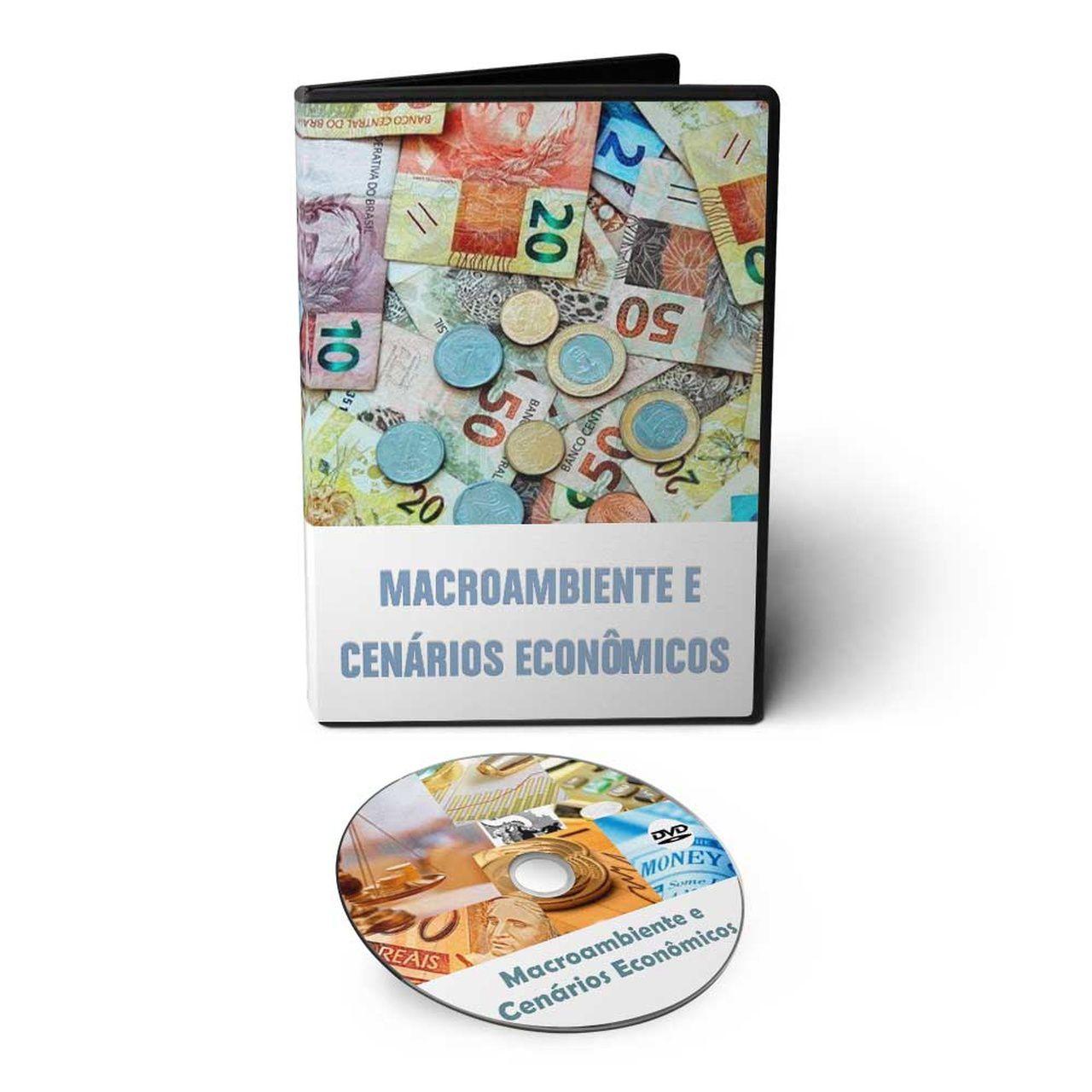 Curso sobre Macroambiente e Cenários Econômicos em DVD Videoaula  - Aprova Cursos