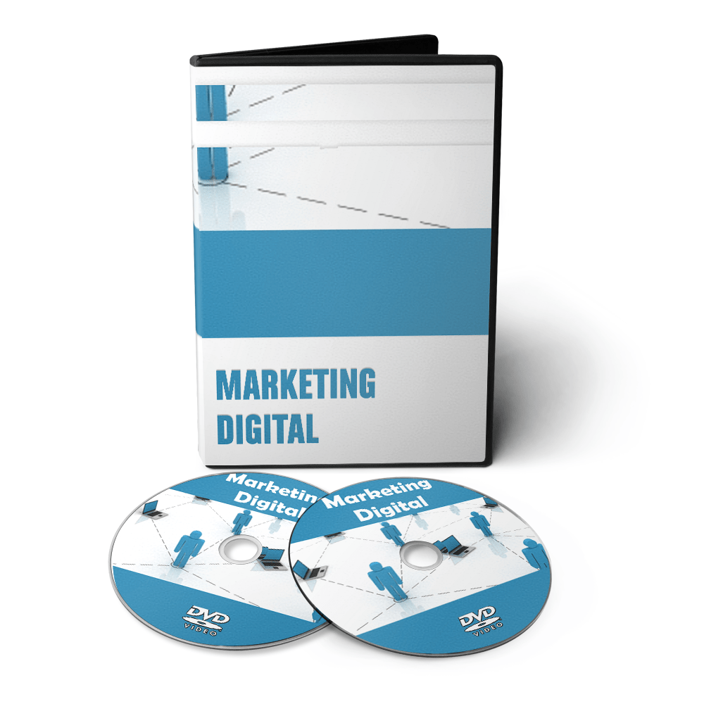 Curso sobre Marketing Digital em 02 DVDs Videoaula