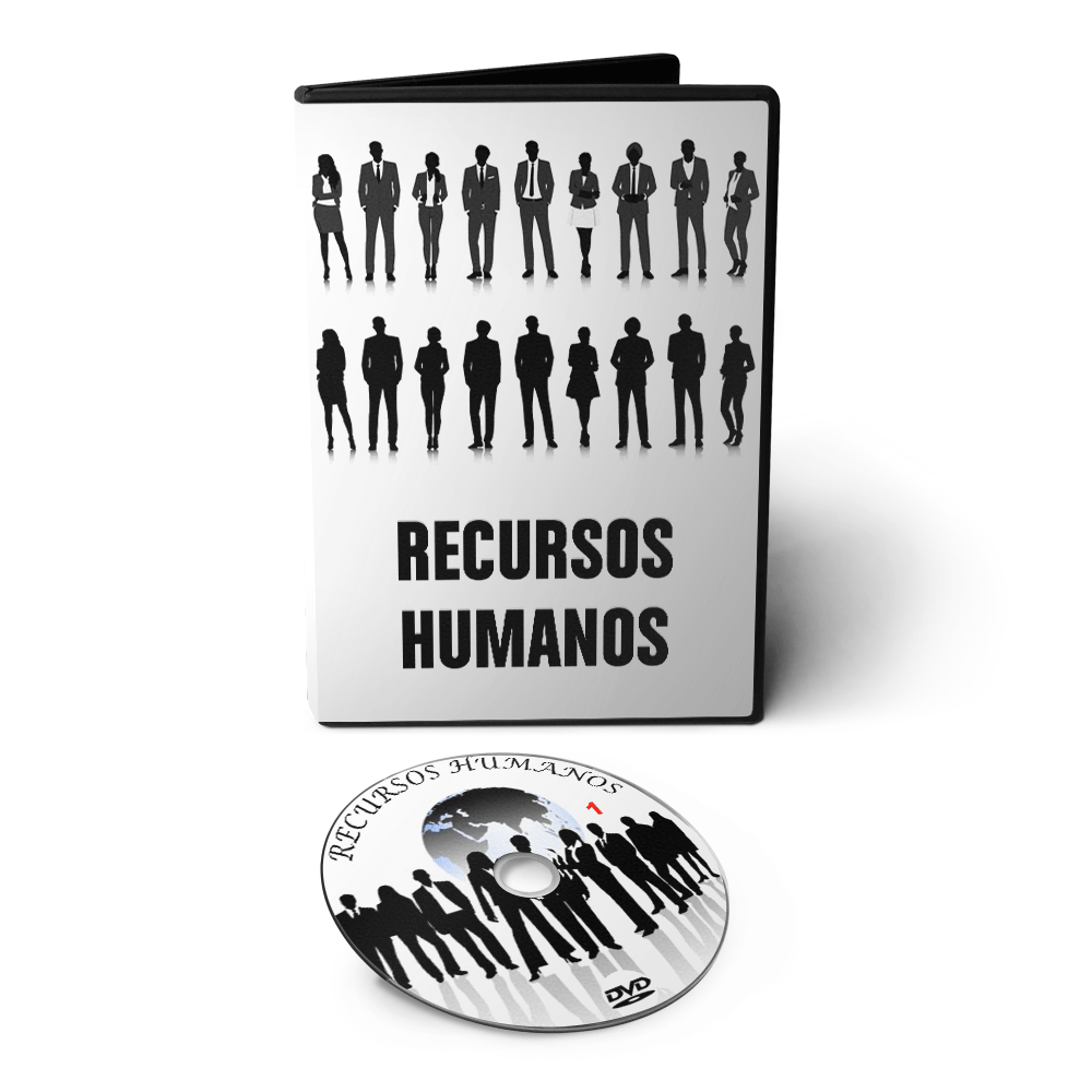 Curso sobre RH Recursos Humanos: Fundamentos e Processos em 02 DVDs Videoaula