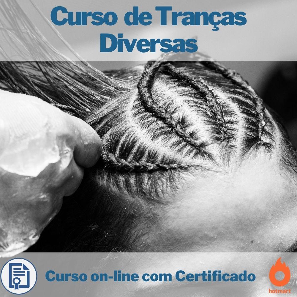 Curso on-line de Tranças Diversas com Certificado