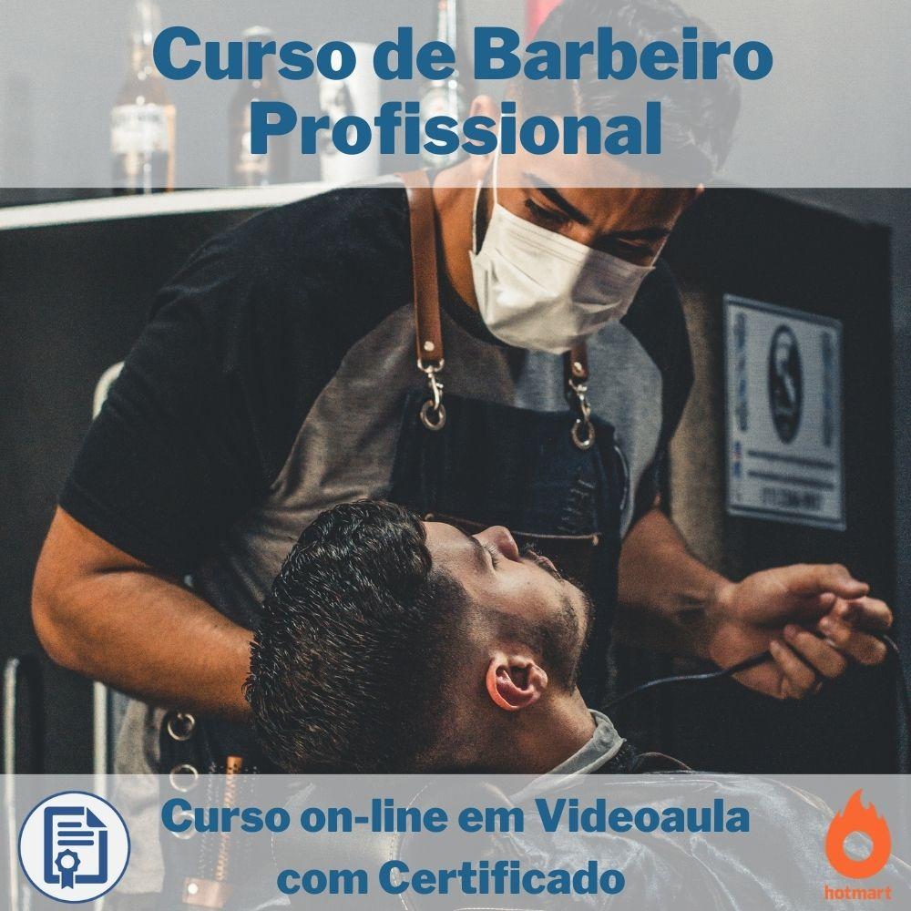 Curso on-line em videoaula de Barbeiro Profissional com Certificado