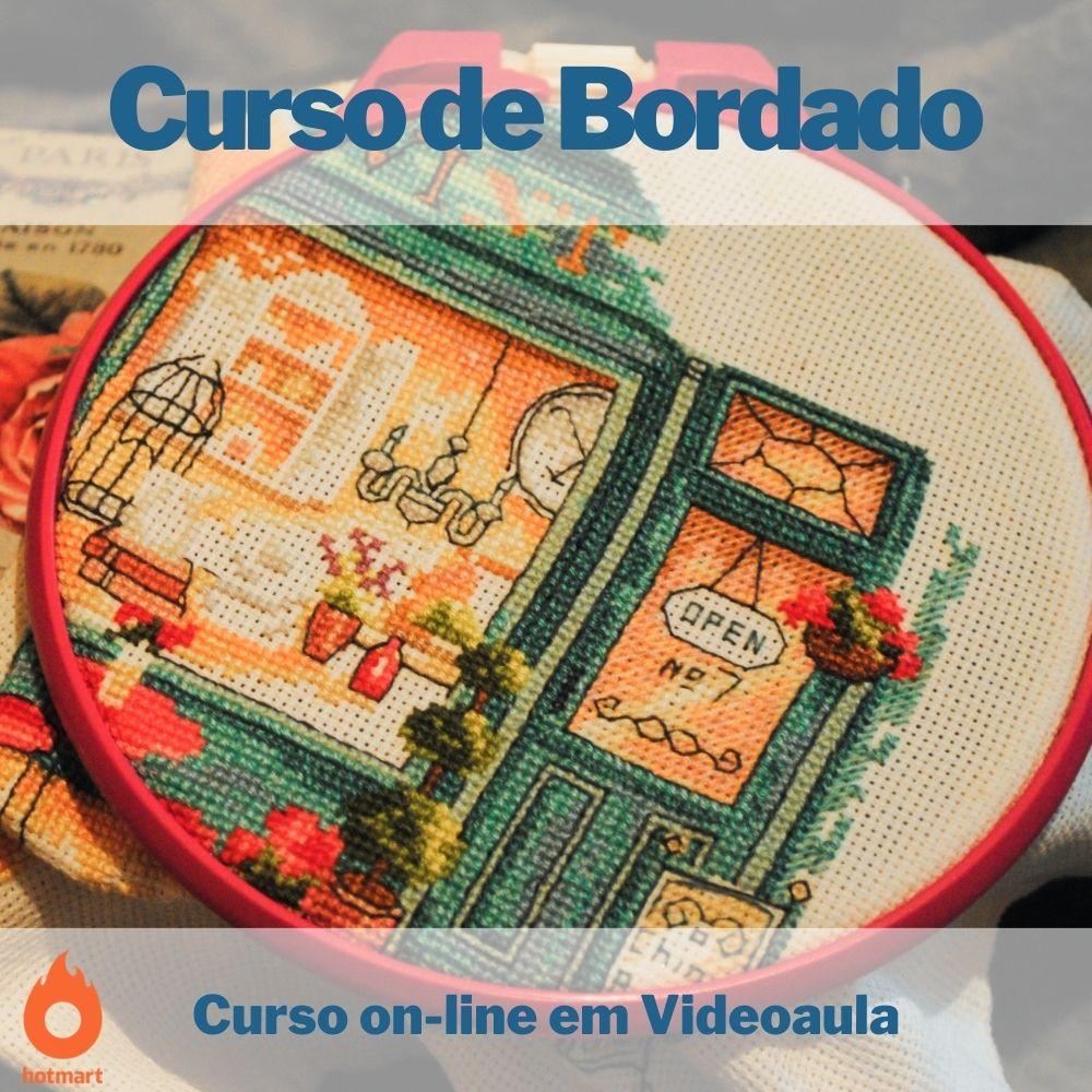 Curso on-line em videoaula de Bordado