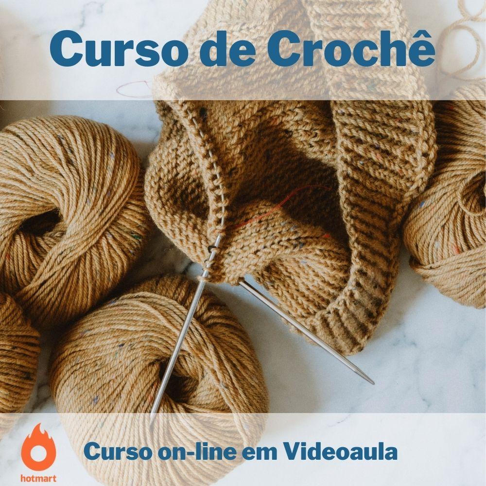 Curso on-line em videoaula de Crochê