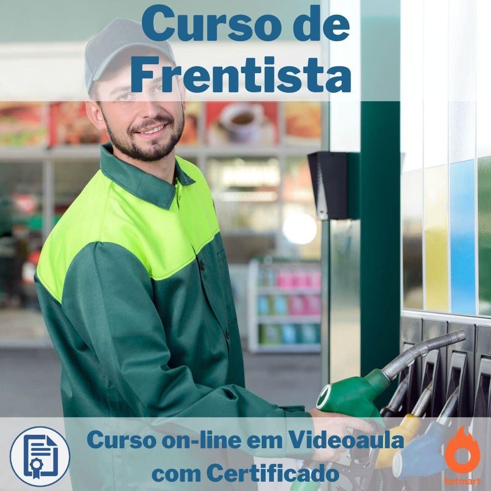 Curso on-line em videoaula de Frentista com Certificado