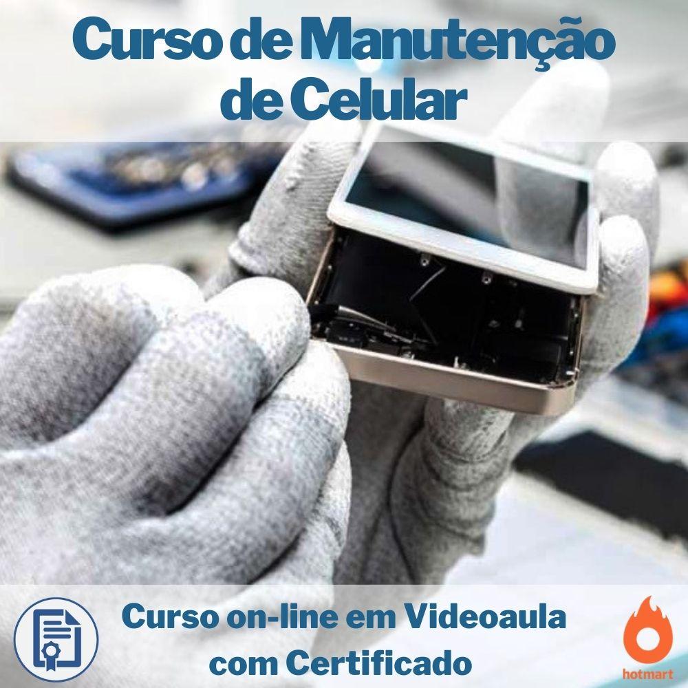 Curso on-line em videoaula de Manutenção de Celular com Certificado