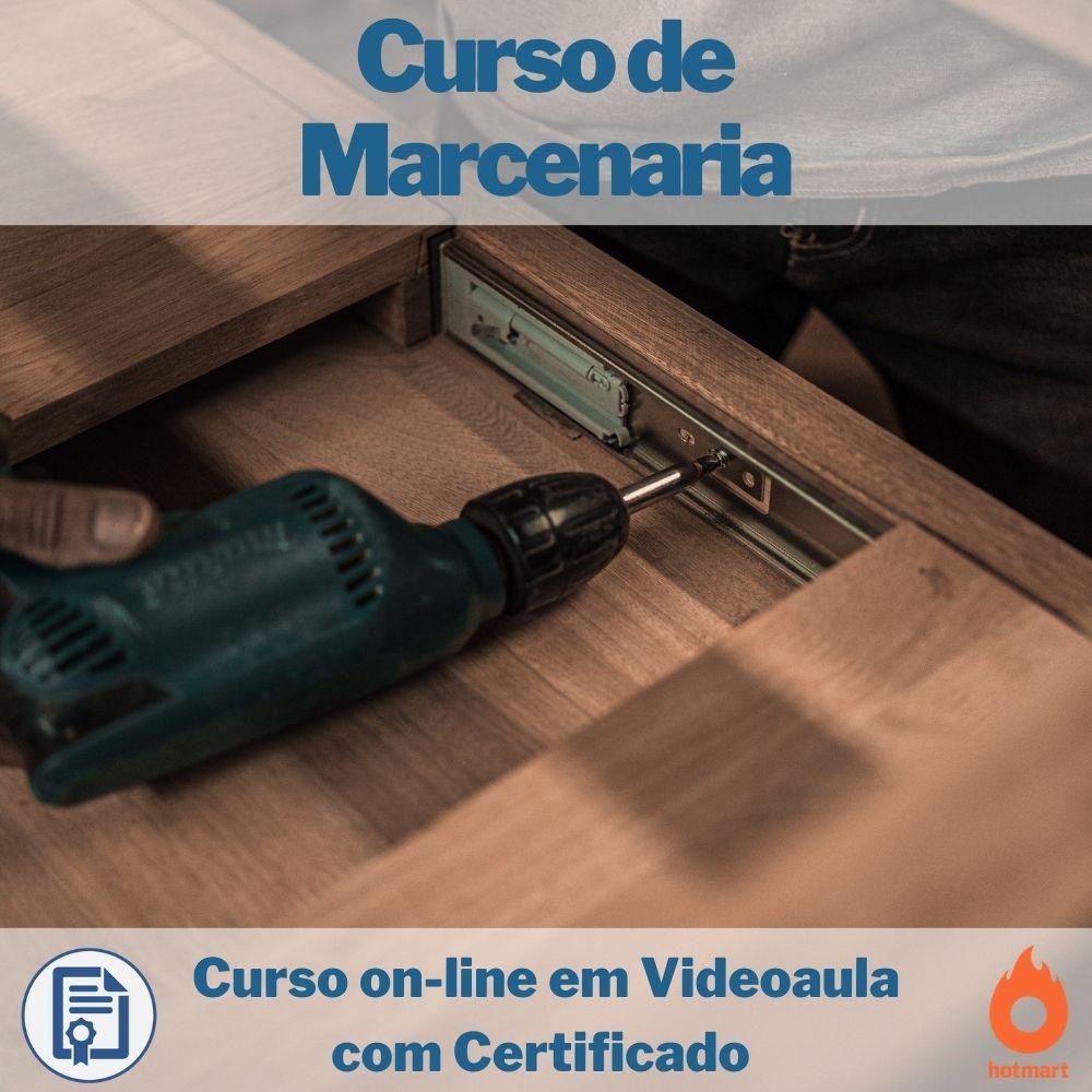 Curso on-line em videoaula de Marcenaria com Certificado