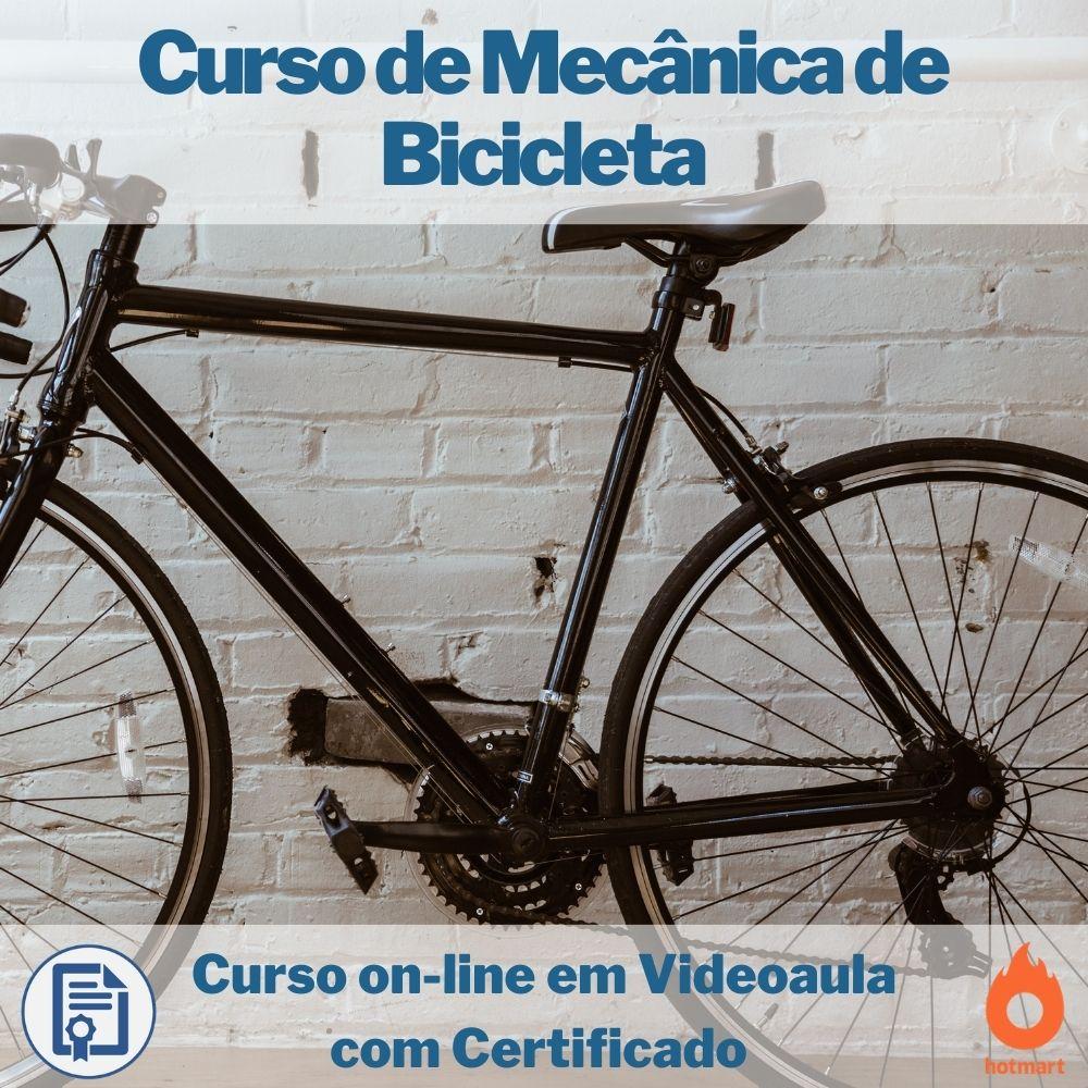 Curso on-line em videoaula de Mecânica de Bicicleta com Certificado