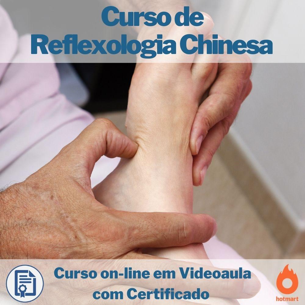 Curso on-line em videoaula de Reflexologia Chinesa com Certificado
