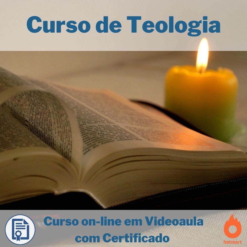 Curso on-line em videoaula de Teologia com Certificado