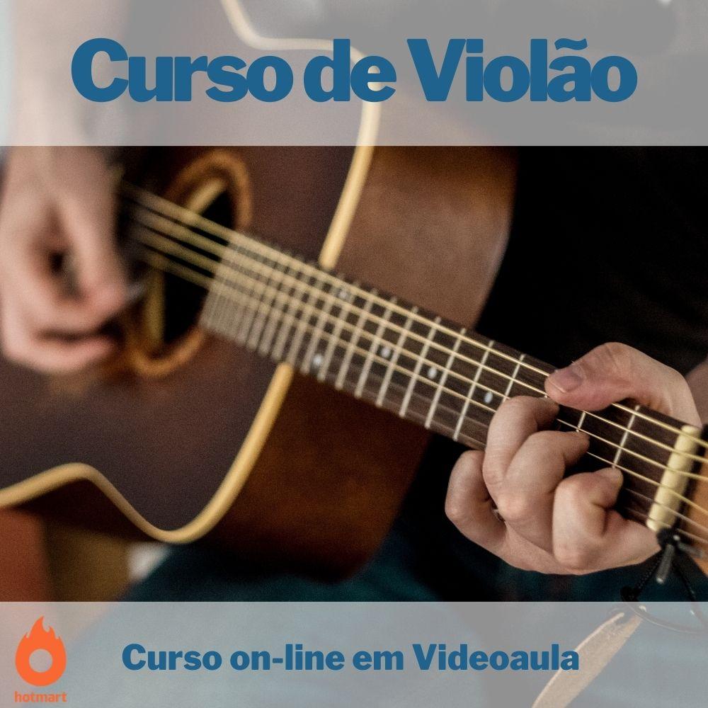 Curso on-line em videoaula de Violão