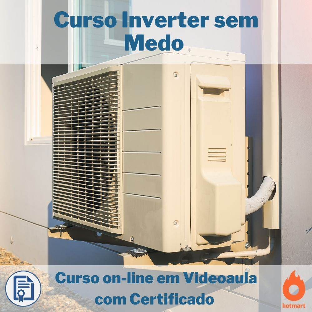 Curso on-line em videoaula Ar Condicionado Inverter com Certificado