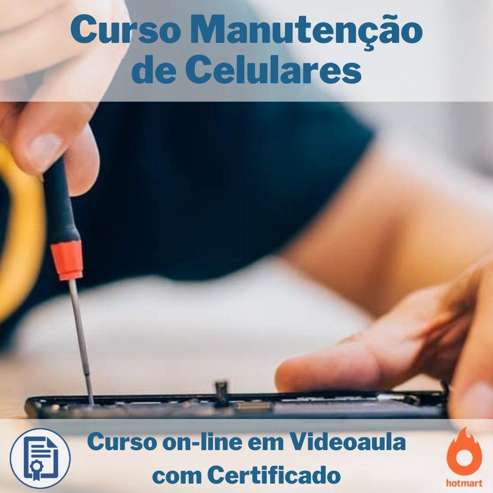 Curso on-line em videoaula Manutenção de Celulares com Certificado  - Aprova Cursos