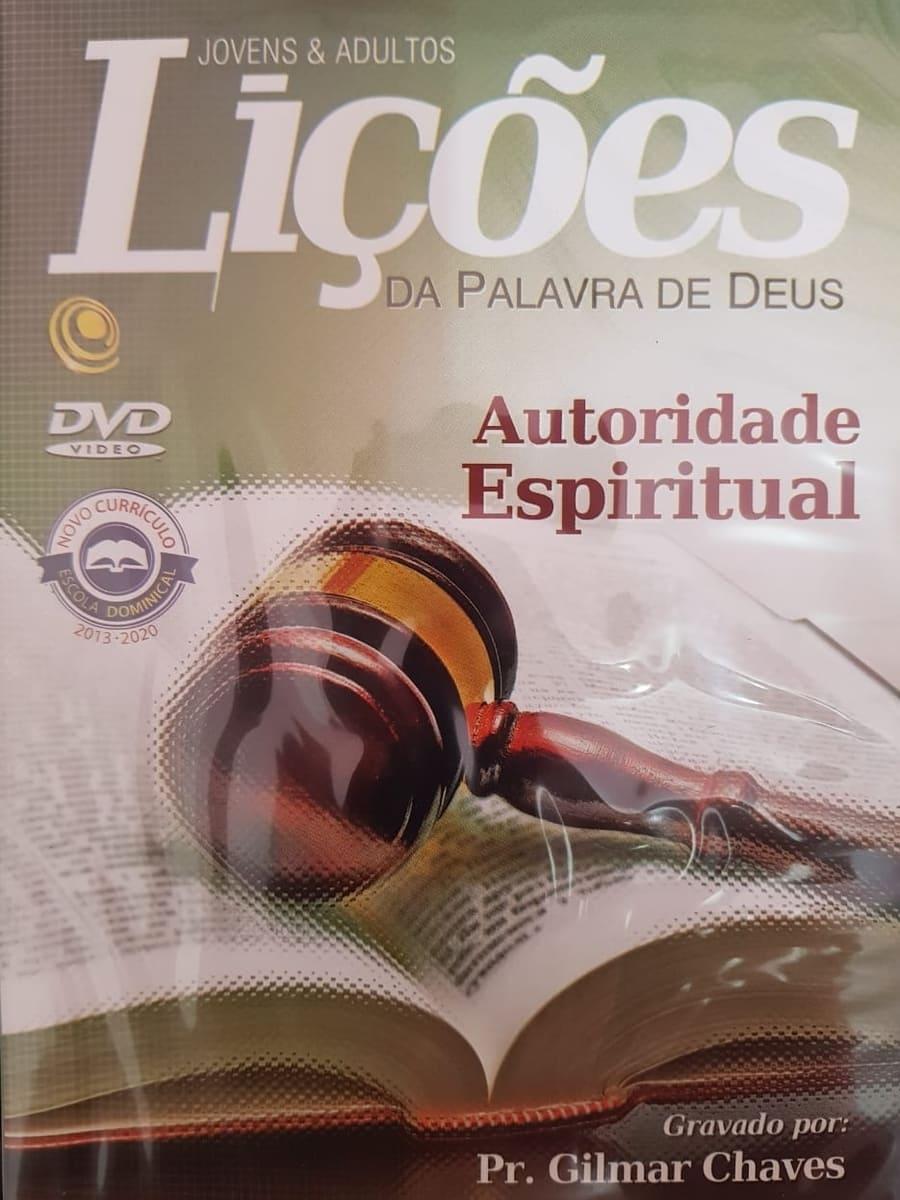 DVD Videoaula Lições da palavra de Deus - Autoridade Espiritual