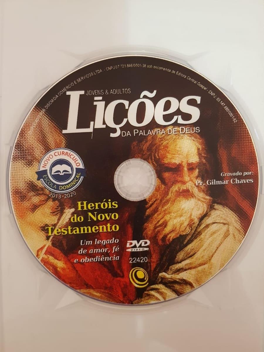 DVD Videoaula Lições da palavra de Deus - Heróis do Novo Testamento  - Aprova Cursos