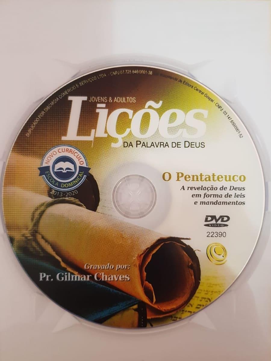DVD Videoaula Lições da palavra de Deus - O Pentateuco - A revelação de Deus em forma de leis e mandamentos  - Aprova Cursos