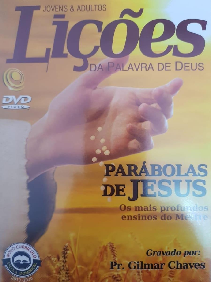 DVD Videoaula Lições da palavra de Deus - Parábolas de Jesus