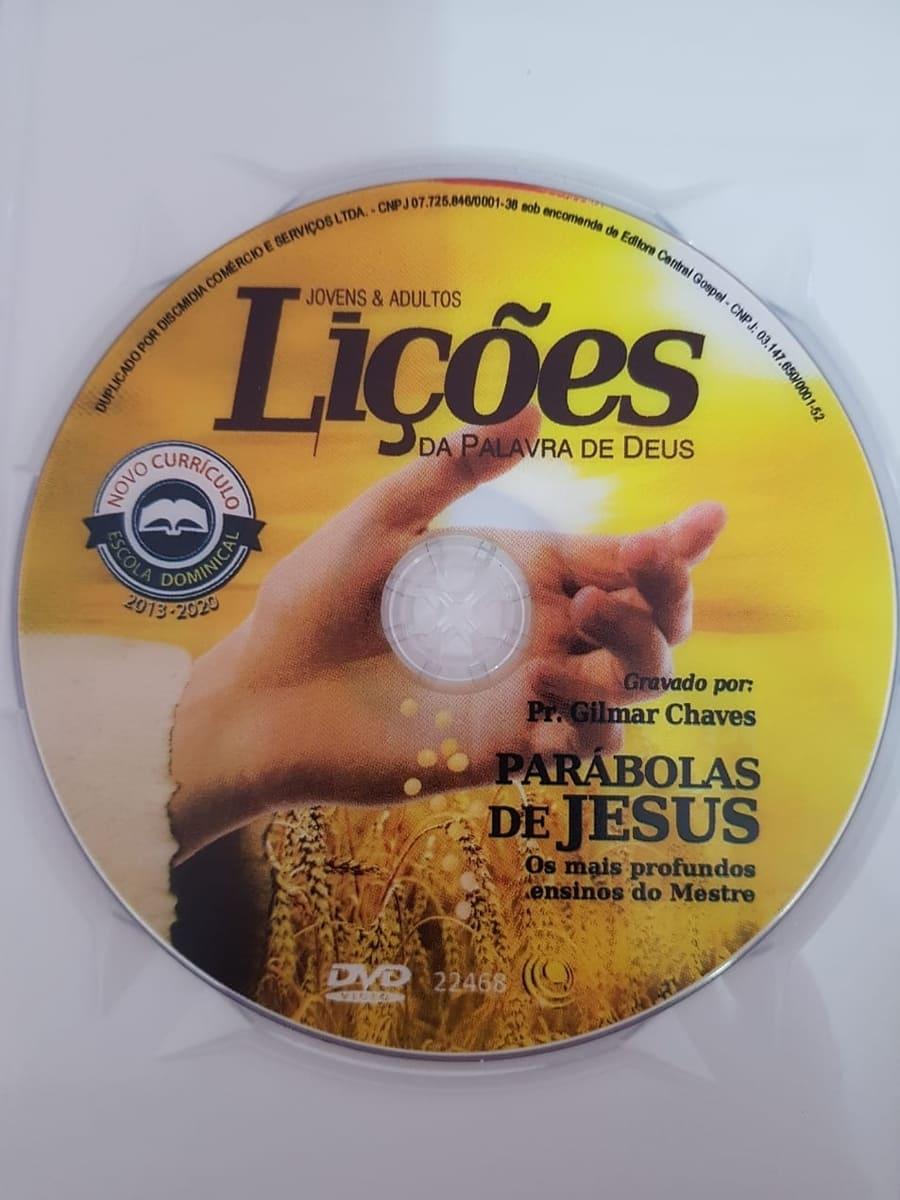 DVD Videoaula Lições da palavra de Deus - Parábolas de Jesus  - Aprova Cursos