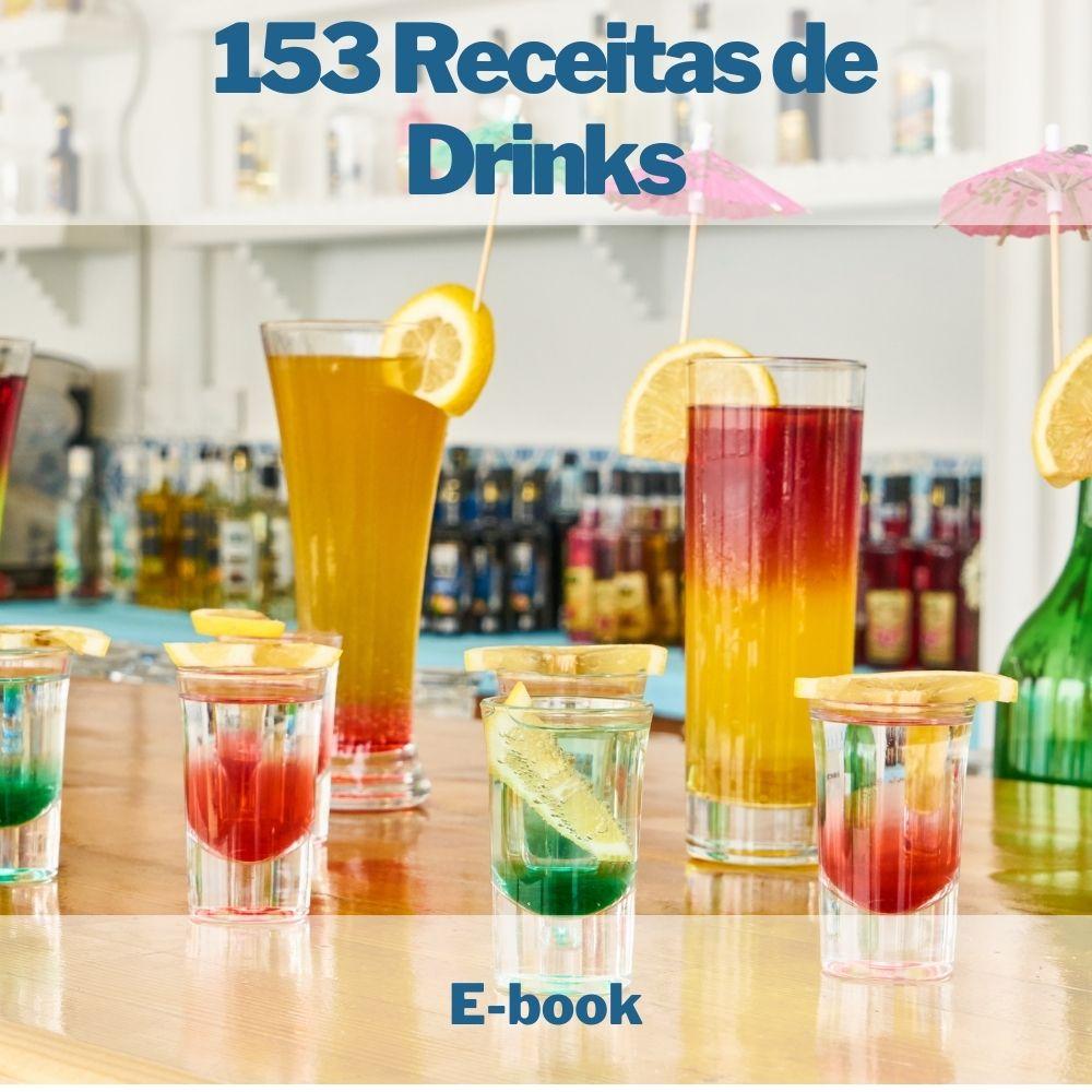 E-book 153 Receitas de Drinks