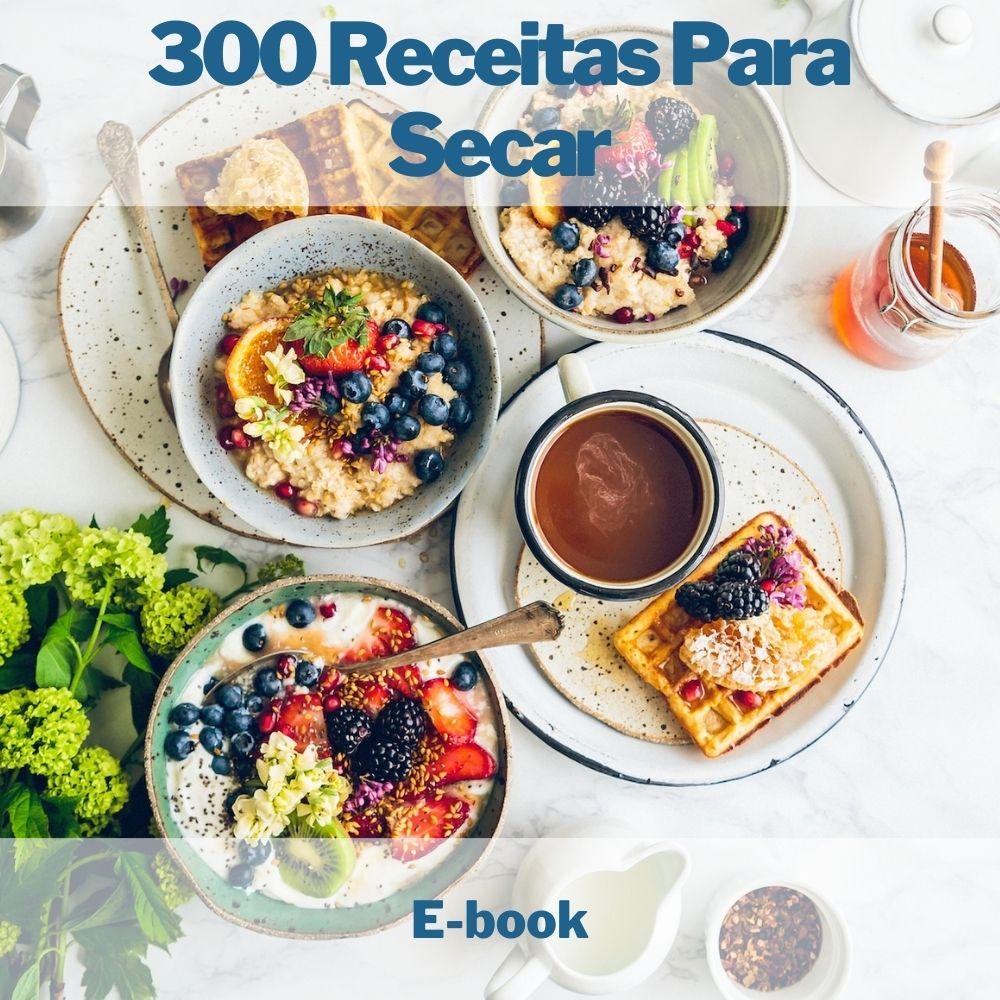 E-book 300 Receitas Para Secar