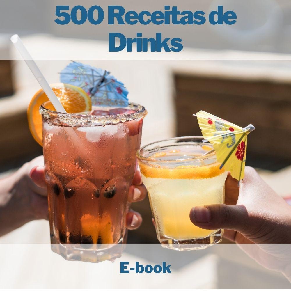 E-book 500 Receitas de Drinks