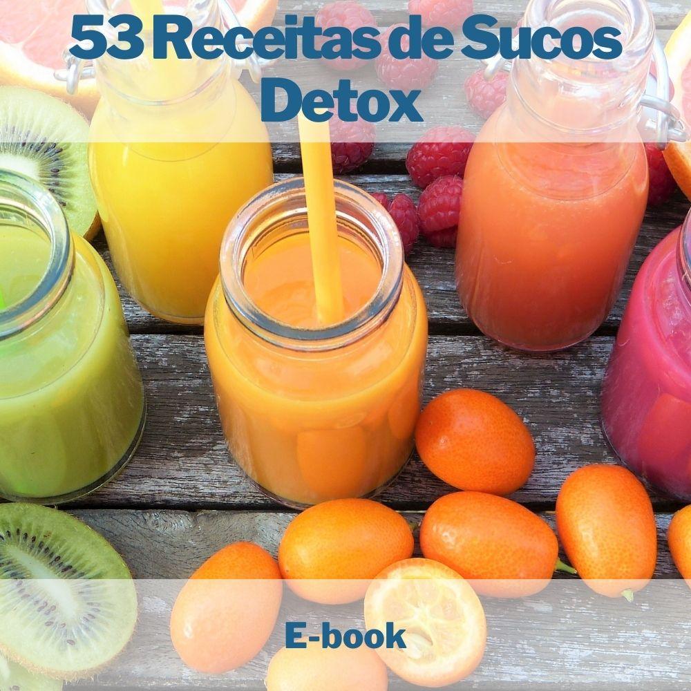 E-book 53 Receitas de Sucos Detox