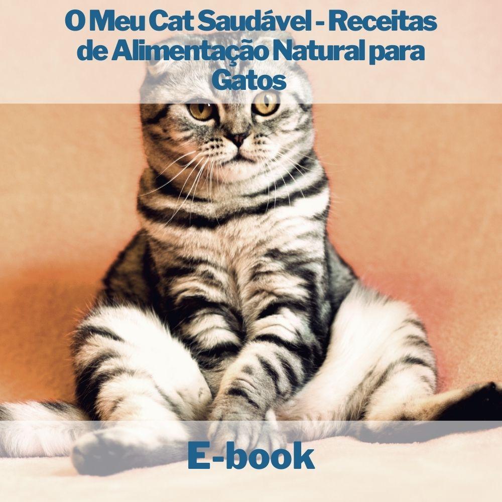 E-book Cat Saudável - Receitas de Alimentação Natural para Gatos