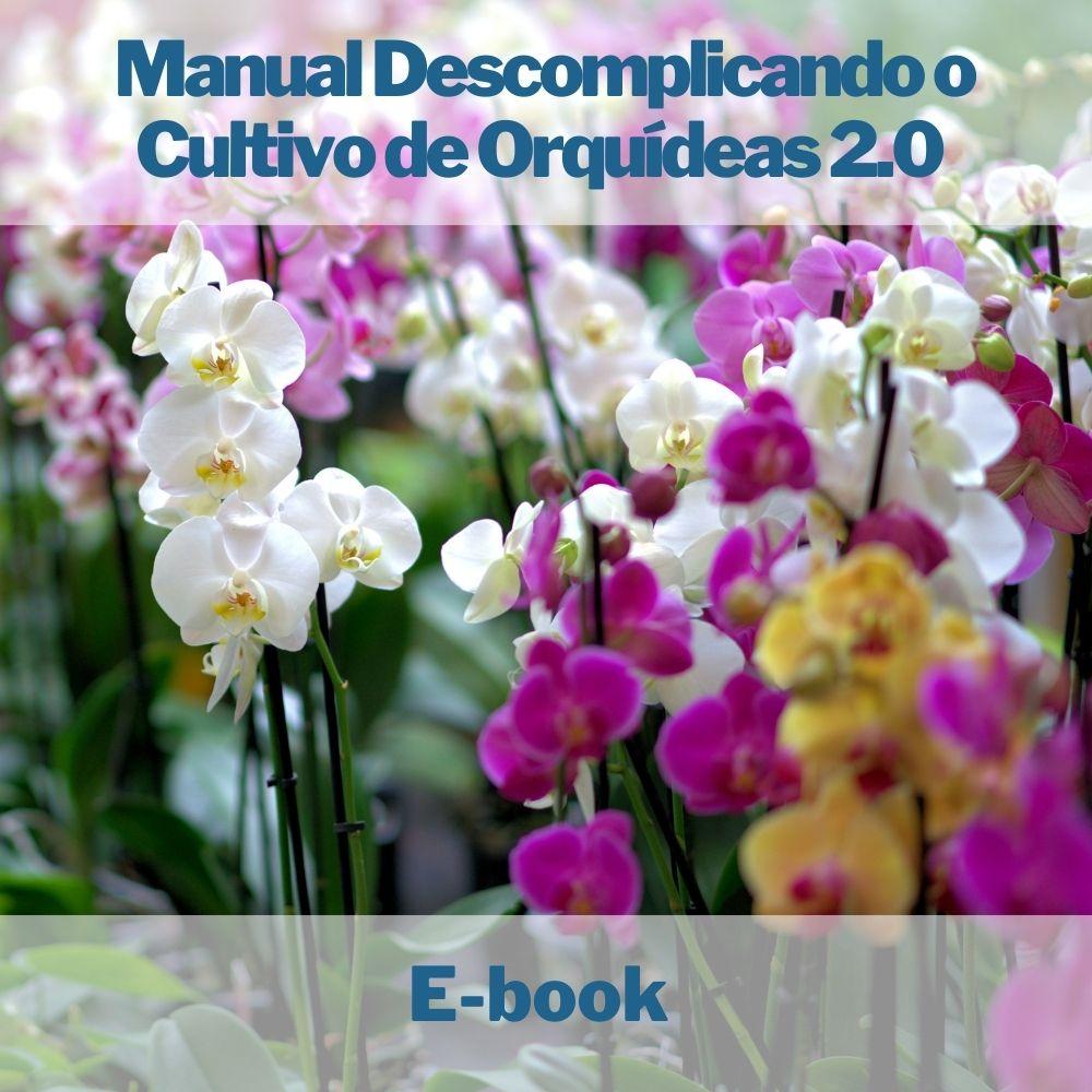 E-book Descomplicando o Cultivo de Orquídeas 2.0