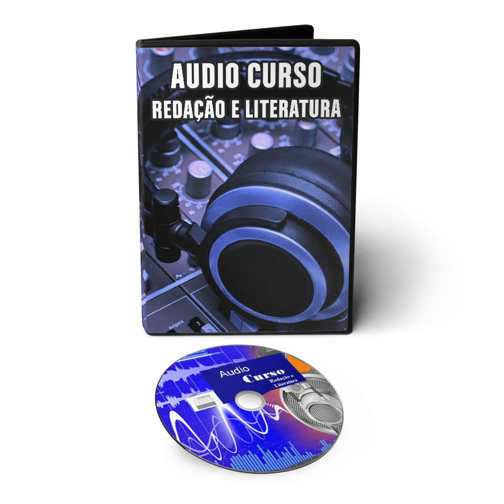 Kit Especial - Todas as Matérias em Áudio Aula: Física Química Biologia Gramática Português Matemática Inglês Geografia História Redação Literatura  - Aprova Cursos