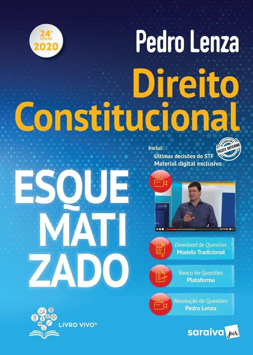 Livro Direito Constitucional Esquematizado 2020 - 24ª Ed.