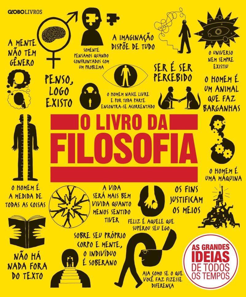 Livro O Livro da Filosofia - Col. Grandes Ideias