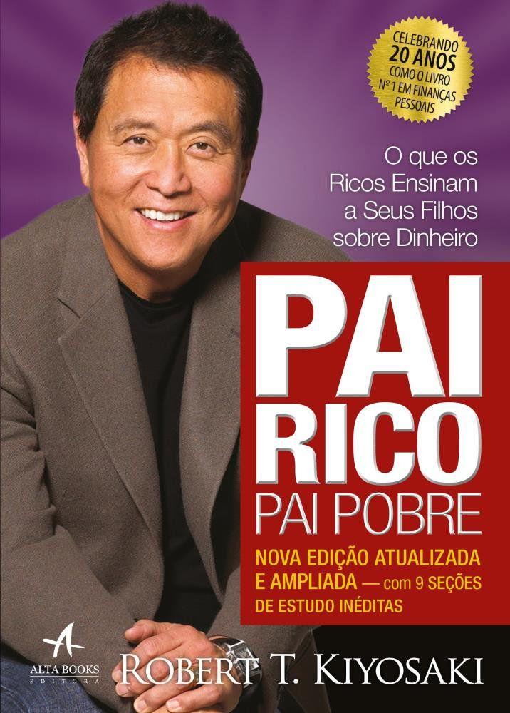 Livro Pai Rico, Pai Pobre - Edição de 20 Anos  - Aprova Cursos