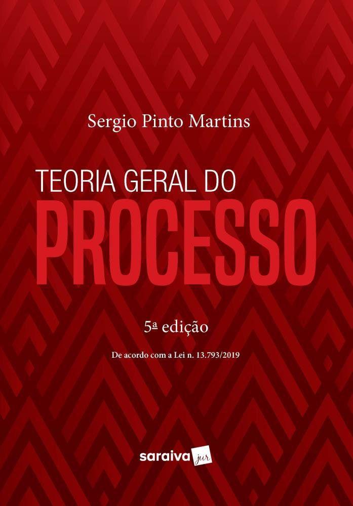 Livro Teoria Geral do Processo - 5ª Ed. 2020