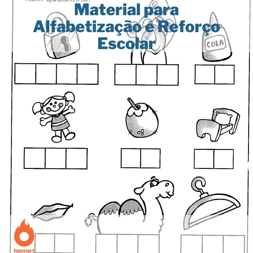 Material para Alfabetização e Reforço Escolar