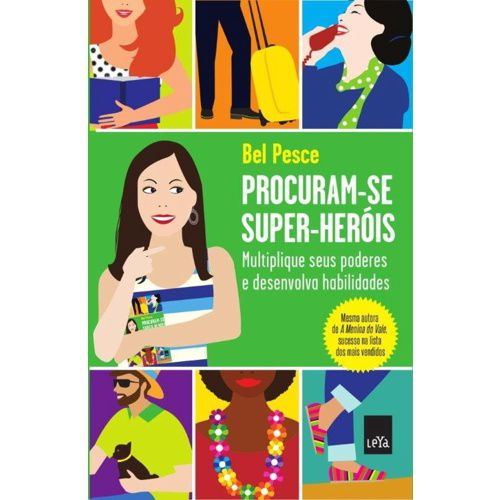 PROCURAM-SE SUPER-HERÓIS